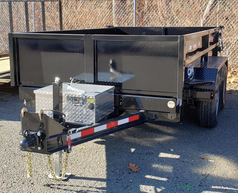 2021 Cam Superline 6 X 10 Low Profile Dump Trailer