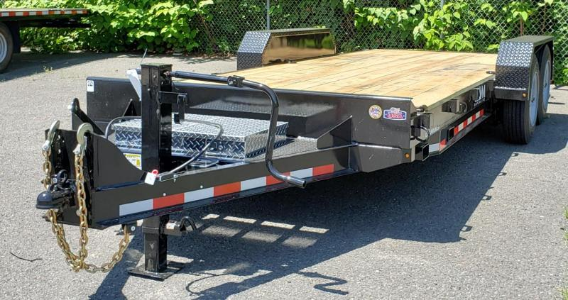 2020 Cam Superline 6.75 X 18 Channel Frame Equipment Hauler Trailer