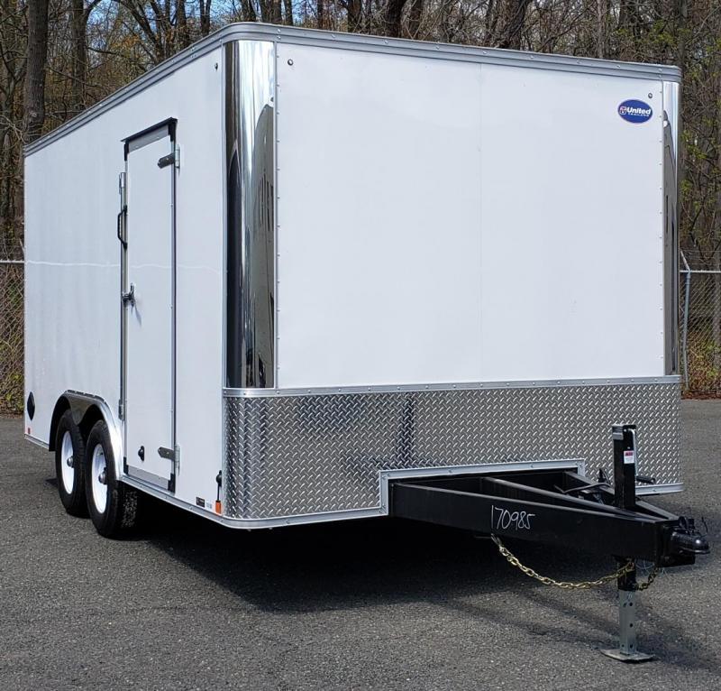 2020 United Trailers 8.5 X 16 Car Hauler XLT