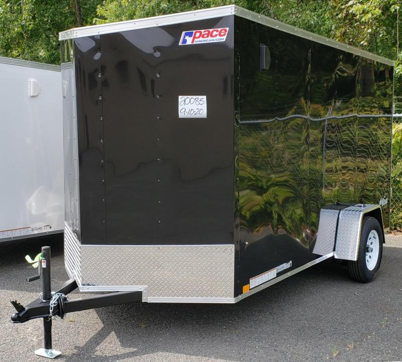 2021 Pace American PSCAB6.0X12S12FF Enclosed Cargo Trailer