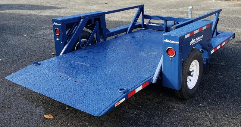 2021 Air-tow 8.5 X 12 Single Axle Flatbed Trailer