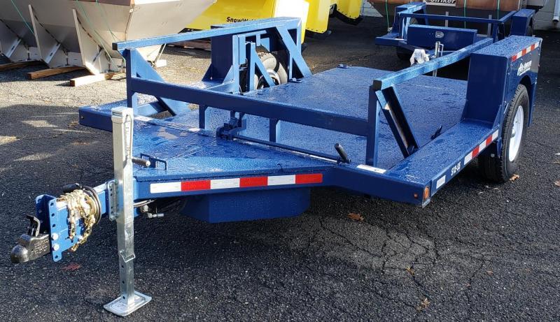 2021 Air-tow 8.5 X 12 Single Axle Flatbed Trailer
