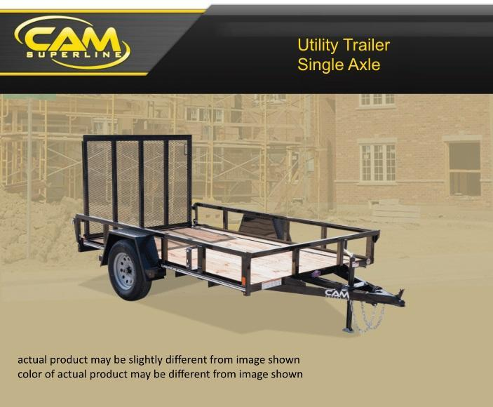 2021 Cam Superline 5 X 10 3K Utility Trailer
