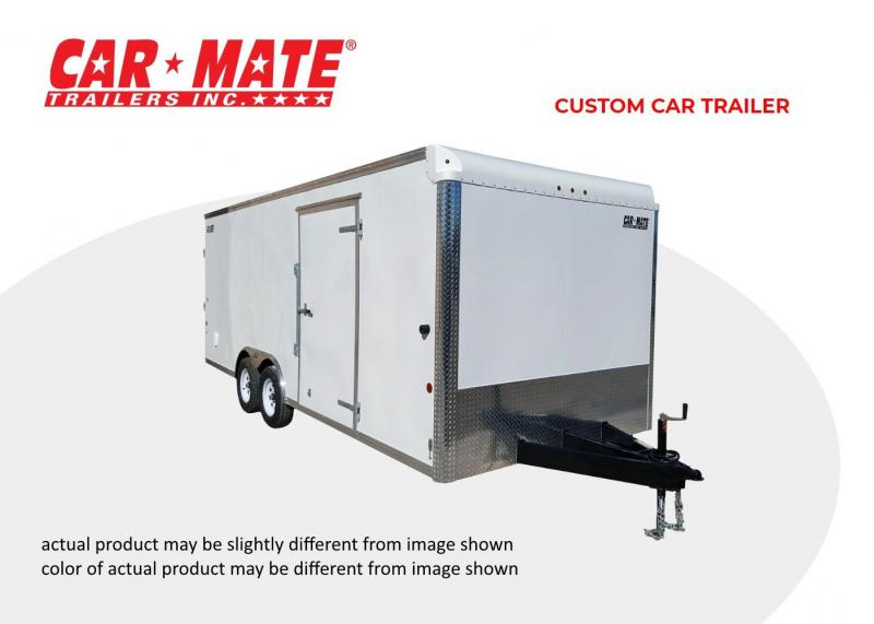 2021 Car Mate 8 X 16 Custom Car Trailer
