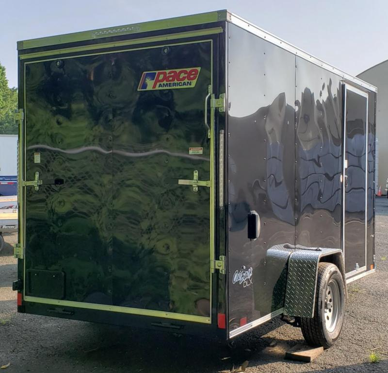 2022 Pace American 6 X 12 Outback DLX Cargo Trailer