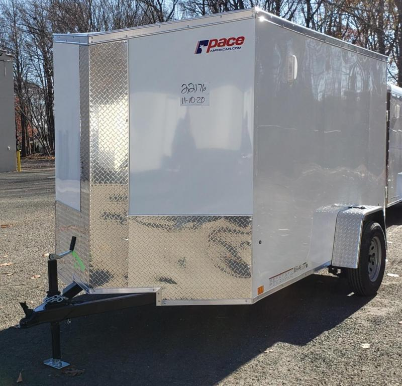 2020 Pace American 6 X 10 Journey SE Cargo Flat Top Trailer