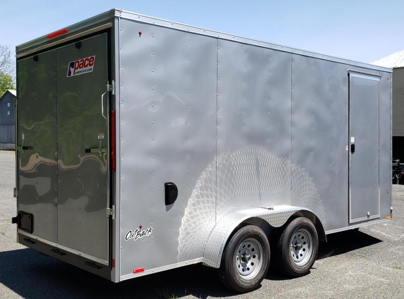2021 Pace American 7 X 16 Outback Cargo Deluxe