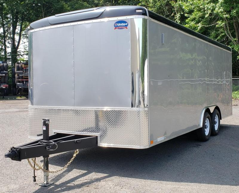 2018 United Trailers 8.5 X 20 Car Hauler ULT