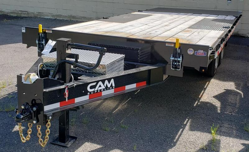 2020 Cam Superline 8.5 X 20 Deckover Full Deck Tilt Trailer