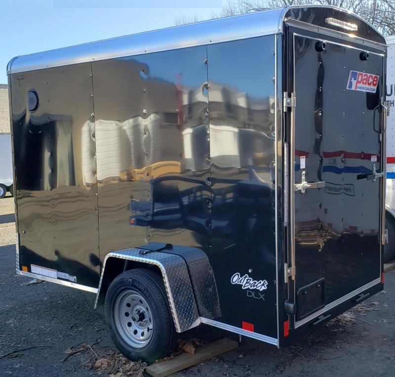 2022 Pace American 5 X 10 Outback Round Top Cargo DLX