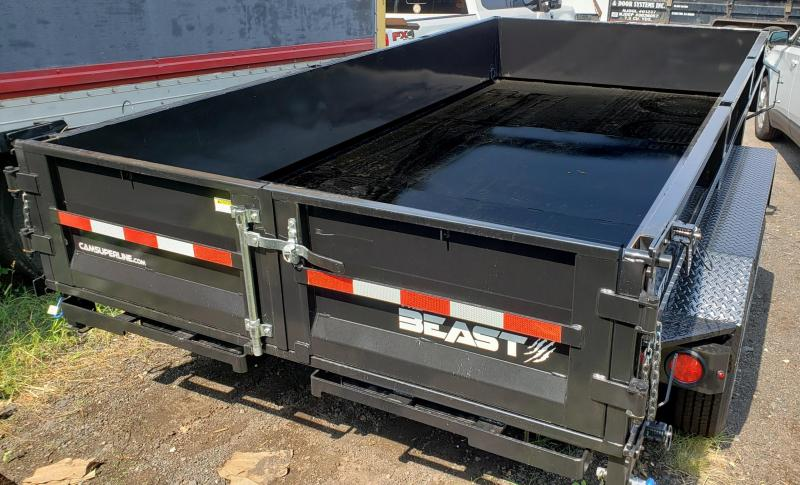 2021 Cam Superline 6 X 14 Low Profile Heavy Duty Dump Trailer