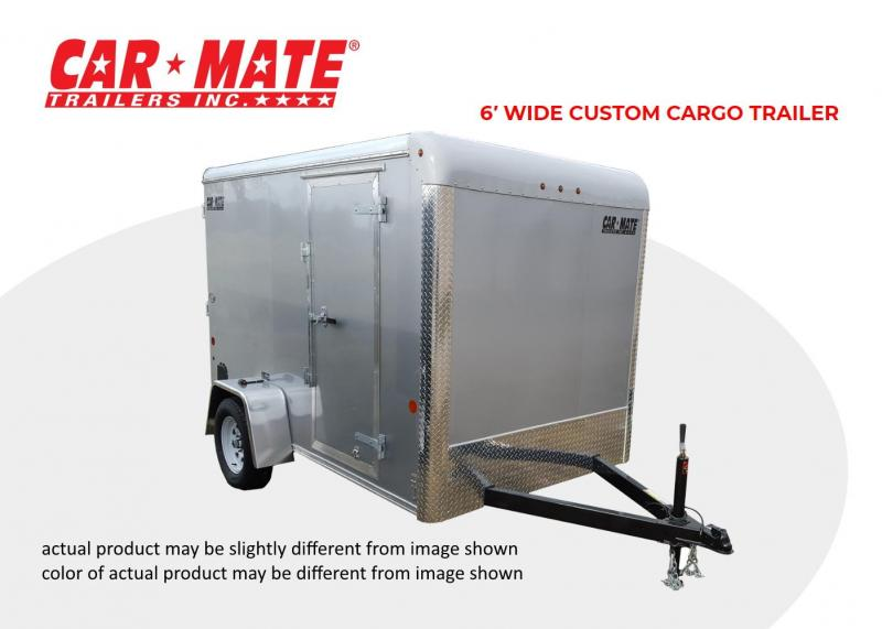 2020 Car Mate 6 X 12 6' Wide Custom Cargo Trailer