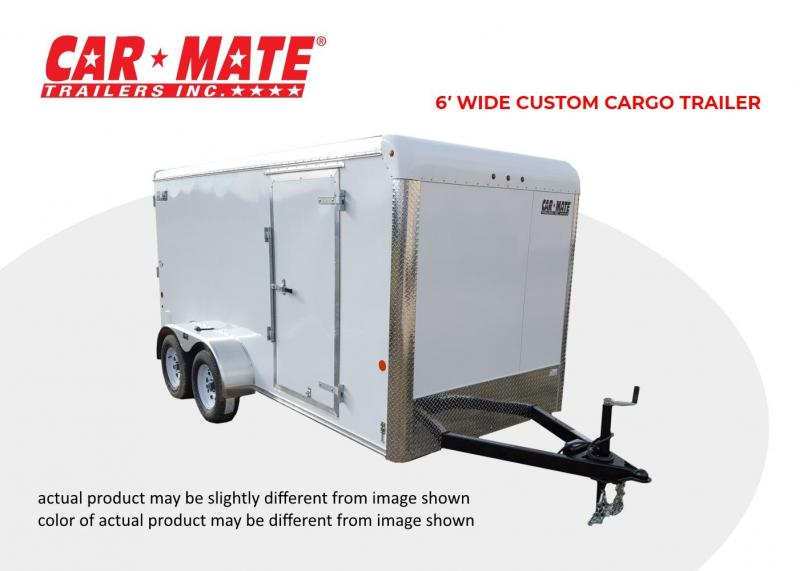 2021 Car Mate 6 X 12 6' Wide Custom Cargo Trailer