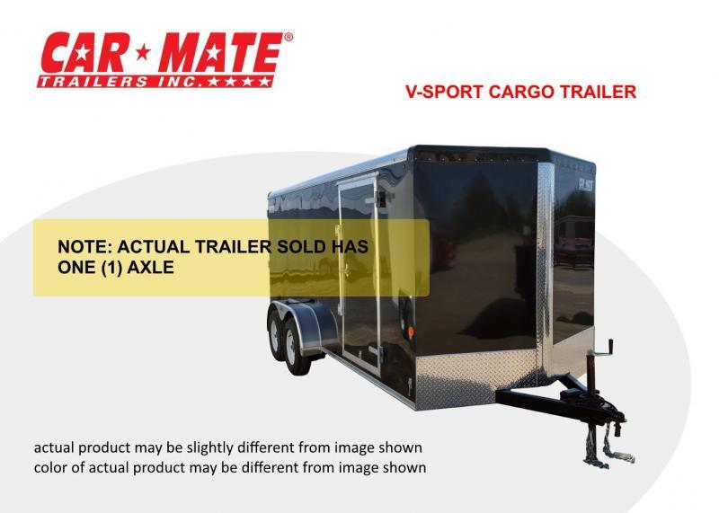 2020 Car Mate 6 X 10 V-Sport Cargo