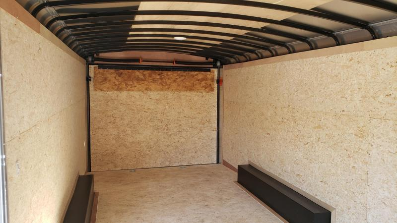 2021 Pace American 8.5 X 20 Journey Round Top SE Cargo Trailer