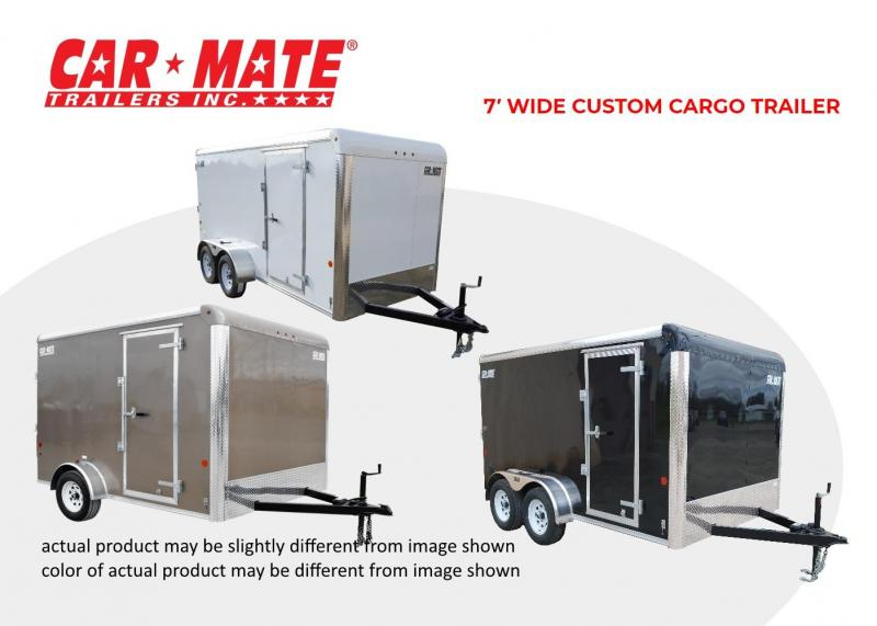 2021 Car Mate 7 X 14 7' Wide Custom Cargo Trailer