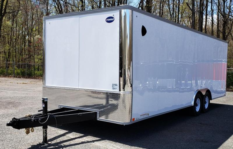 2020 United Trailers 8.5 X 24 Car Hauler XLT
