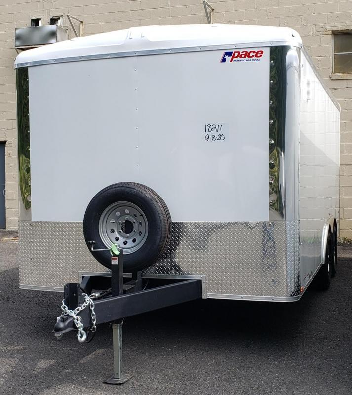 2021 Pace American PLS85X16TE3 Enclosed Cargo Trailer