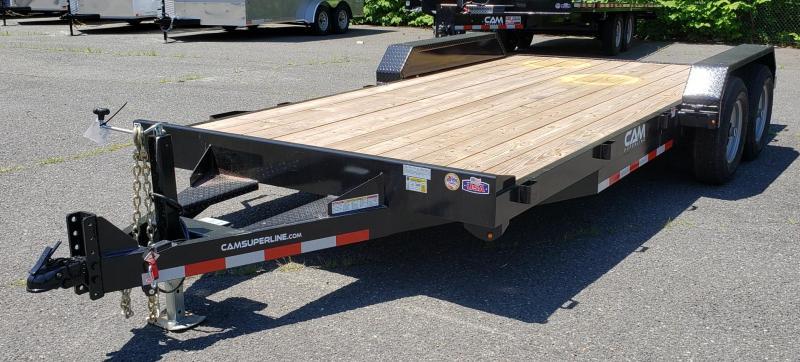 2020 Cam Superline 6.8 X 18 Wood Deck Car Hauler Trailer