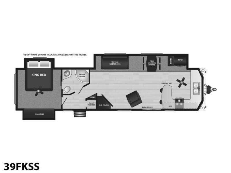 2021 Keystone RV Retreat 39FKSS