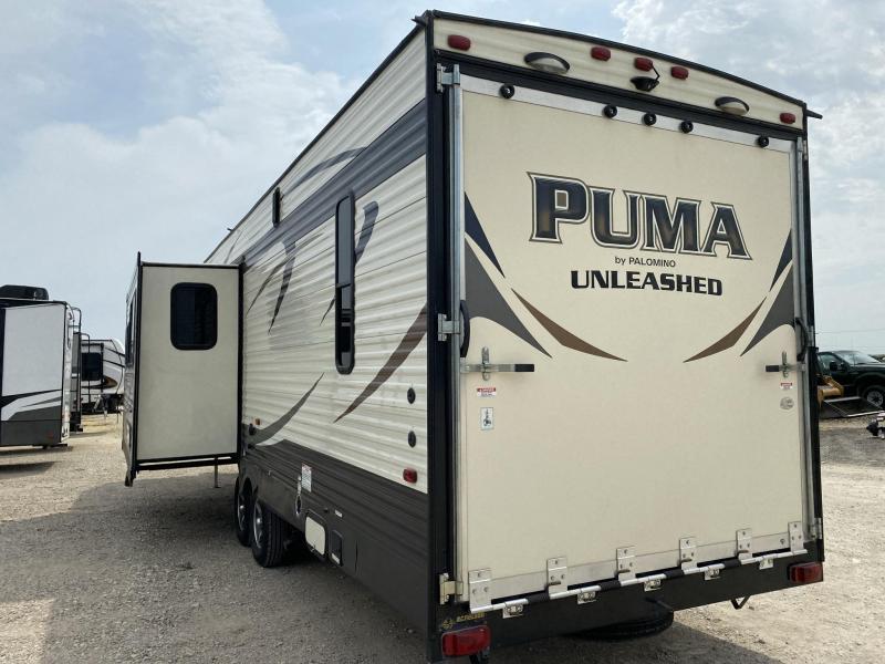 2016 Palomino Puma 351THSS Toy Hauler RV