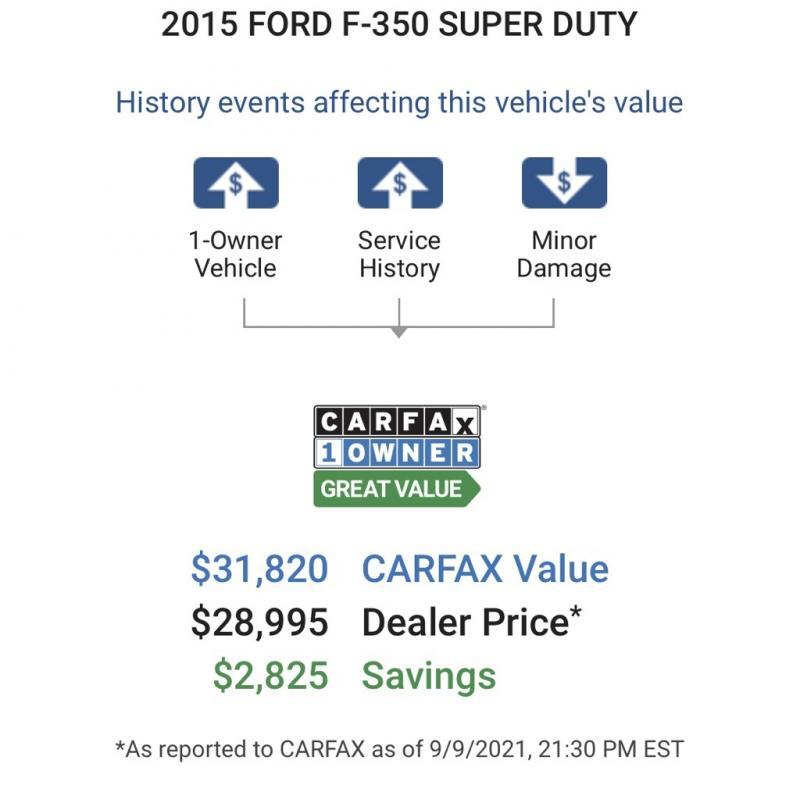 2015 Ford F-350SD XL