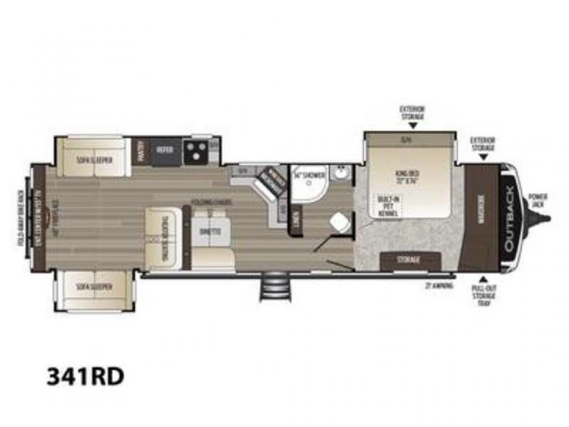 2021 Keystone RV Outback 341RD