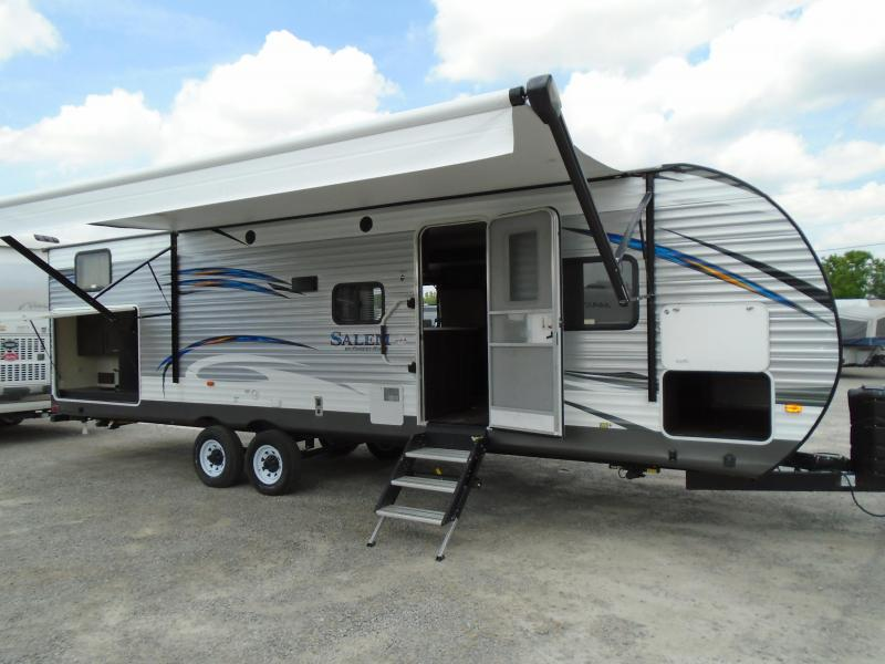 2019 Forest River Salem 30QBSS Travel Trailer RV