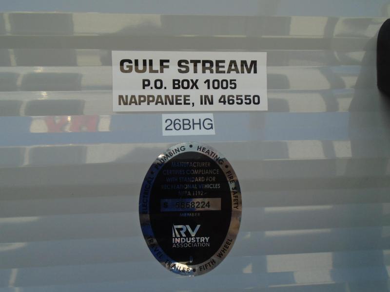2020 Gulf Stream CONQUEST 26BHG Travel Trailer RV