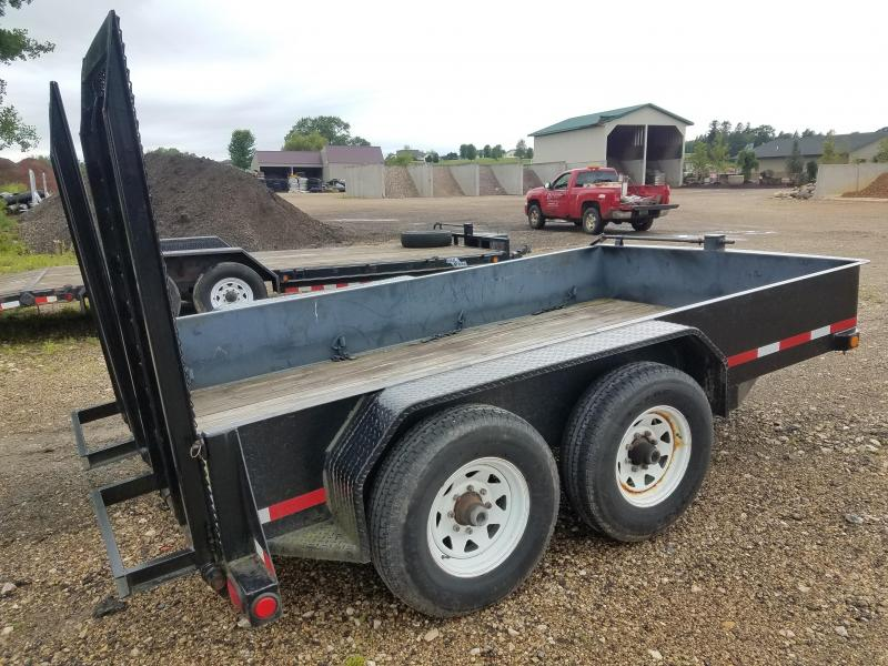 "2008 Other 81""x12' 14k Equipment Trailer"