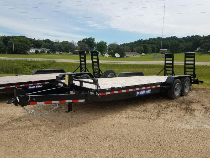 2020 Sure-Trac 7 x 22 Equipment Trailer  16k