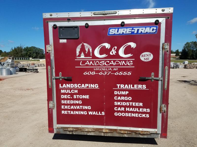2014 Sure-Trac 7x14 10k Enclosed Cargo Trailer