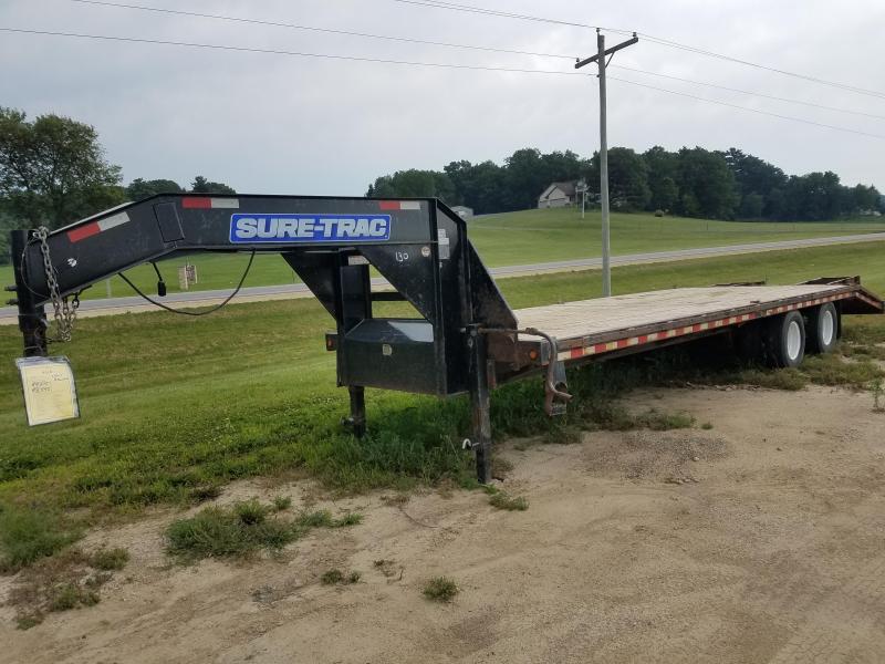 2014 Sure-Trac Gooseneck 28ft 22000lbs Equipment Trailer