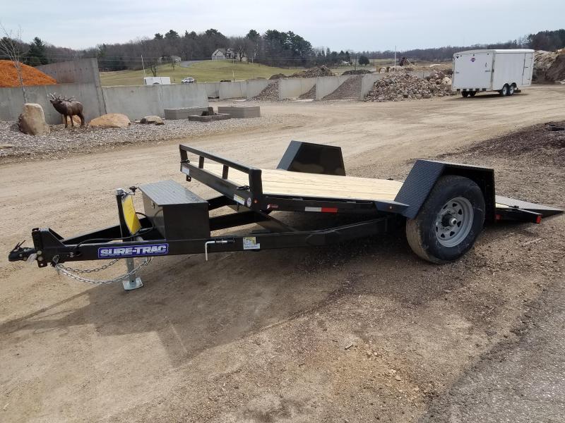 2021 Sure-Trac 78 IN x 12 Single Axle Tilt Bed Equipmen