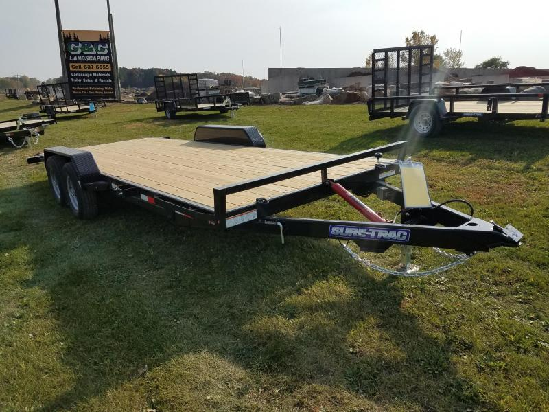 2021 Sure-Trac 7 x 20 Tilt Bed Car Hauler Trailer  10K
