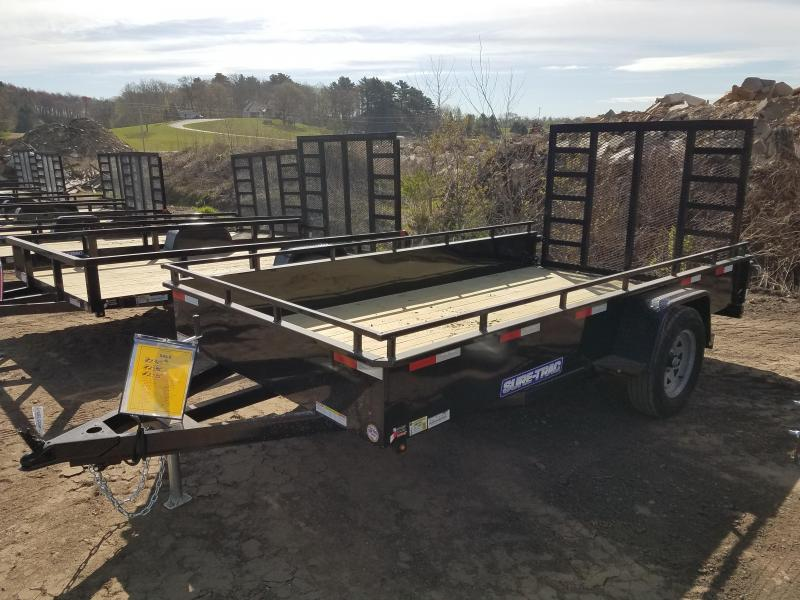 2021 Sure-Trac 6 x 12 Steel High Side Trailer  3K Idler