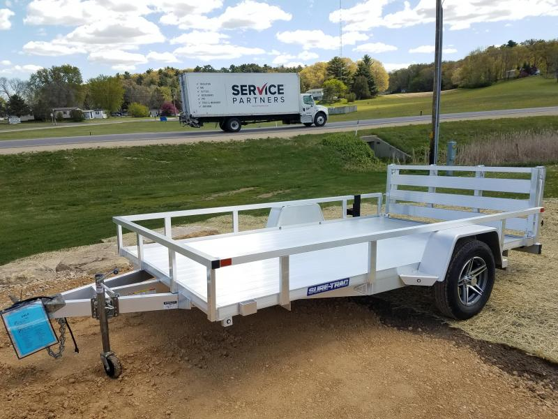 2021 Sure-Trac 7 X 12 Aluminum Tube Top Utility  3K Idl