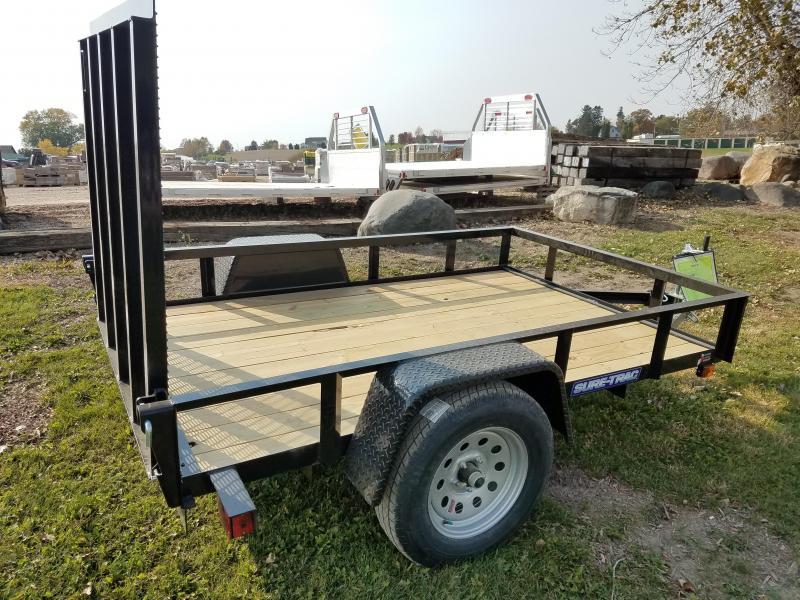 2021 Sure-Trac 5 x 8 Angle Iron Utility Trailer  3K Idl
