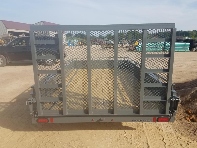 2021 Sure-Trac 7 x 12 Steel High Side Trailer  5K Brake