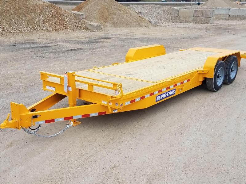 2020 Sure-Trac 7 x 18 + 4 Tilt Bed Equipment  16K