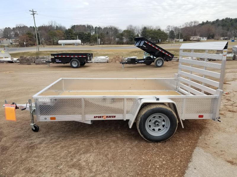 2021 Sport Haven AUT610S Utility Trailer