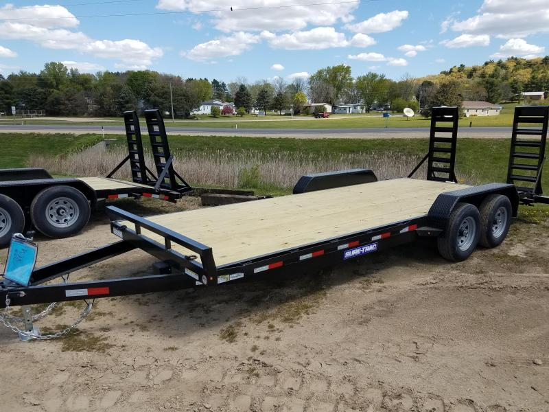 2021 Sure-Trac 7 x 20 (18+2) Equipment Trailer  10K