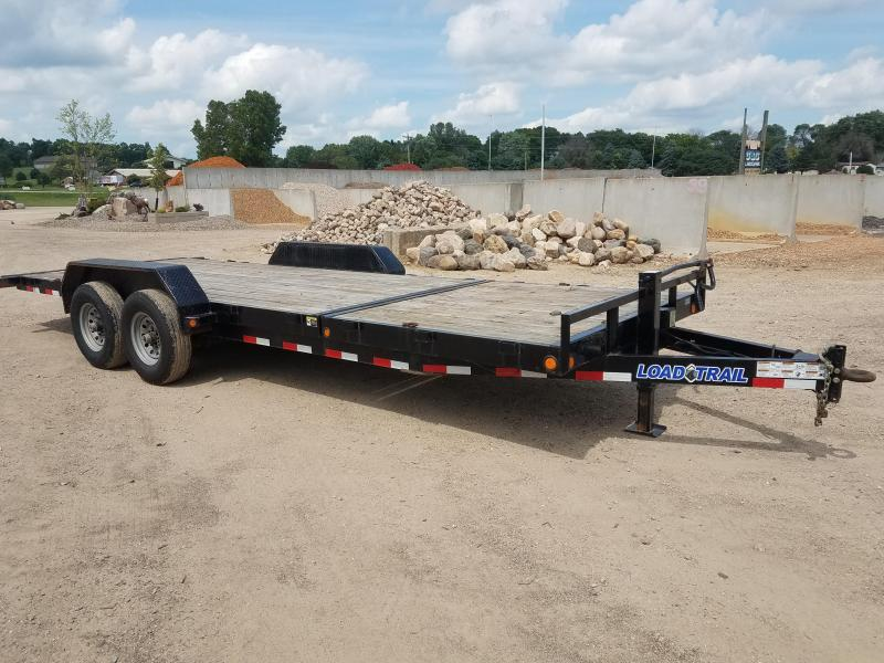 2014 Load Trail 22' Tilt Bed Equipment Trailer
