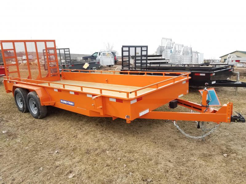 2020 Sure-Trac 7 X 18 Steel High Side  10K Tandem