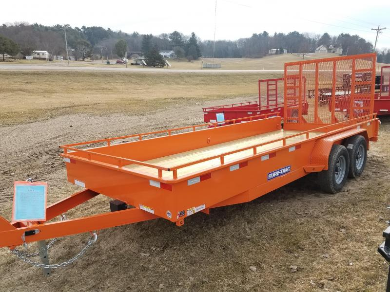 2020 Sure-Trac 7 X 18 Steel High Side  10K Tandem