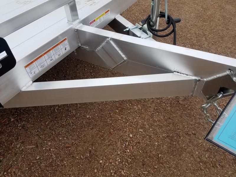 2021 Sure-Trac 7 X 12 Aluminum Low Side Utility  3K