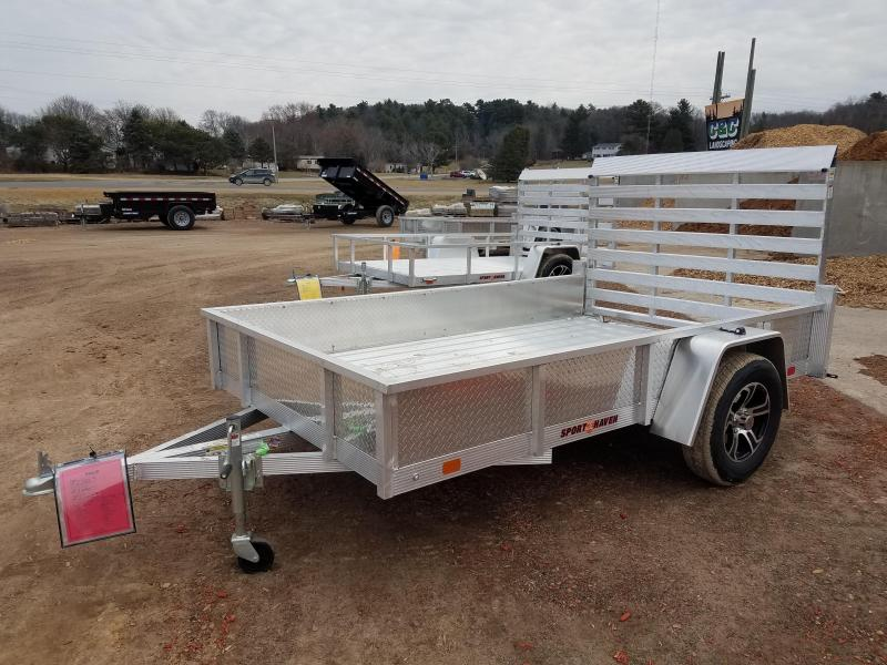 2021 Sport Haven AUT610DS Utility Trailer
