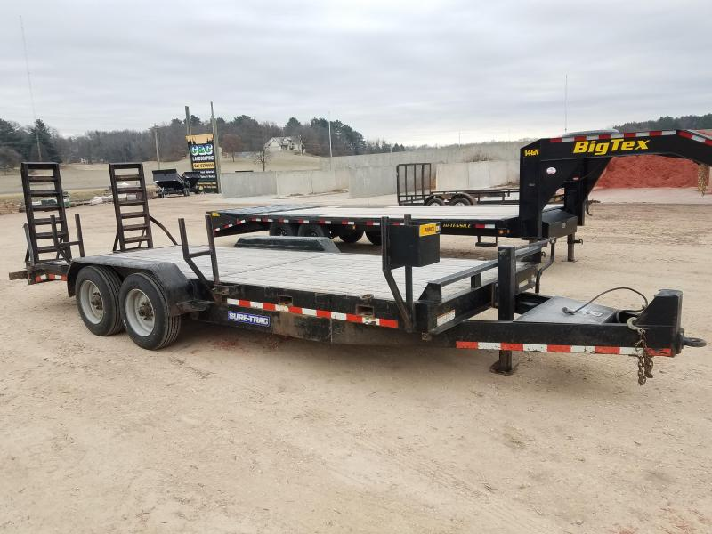 2015Sure Trac 16k HD Equipment Trailer Equipment Trailer