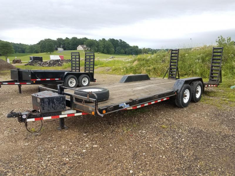 "2011 Load Trail 81""x22' 14k Equipment Trailer"