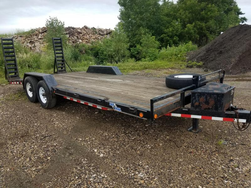 "2011 Load Trail 81""x22' 14k Equipment Trailer"